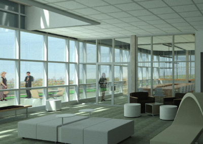 CPI - Health Sciences ~ Interior, Conference Lobby
