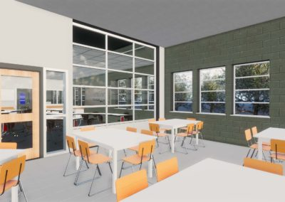 Caldwell County - Granite Falls - Middle School ~ Interior Rending STEM Space 2