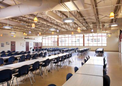 Mount Union - MUJSHS ~ Jr Sr High - Interior Cafeteria 3 [MKH]