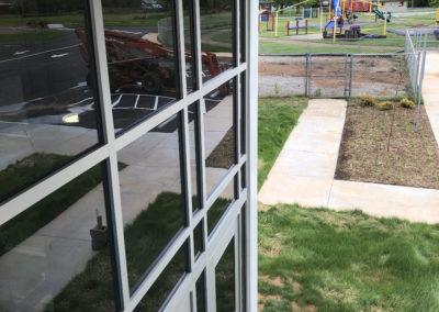 Newton Conover - Exceptional ~ Exterior window curtain wall (VM)