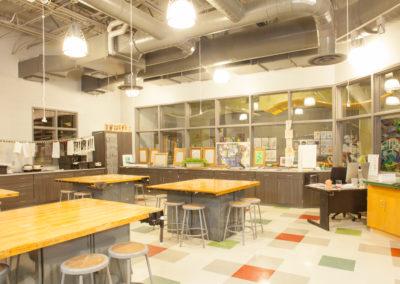 Westmont HT Jr&Sr High School - Westmont Hilltop - High School ~ Interior STEM classroom 1 (MH)