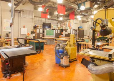 Westmont HT Jr&Sr High School - Westmont Hilltop - High School ~ Interior Shop classroom 2 (MH