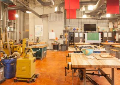 Westmont HT Jr&Sr High School - Westmont Hilltop - High School ~ Interior Shop classroom 3 (MH