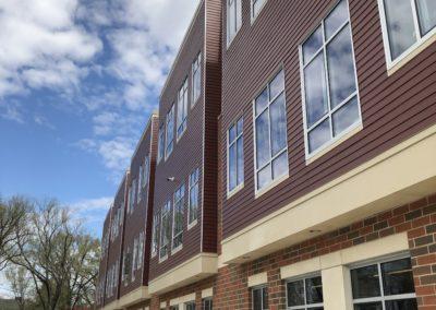 Westmont Hilltop - Elementary ~ Exterior, Classroom Facade on Summer Day (KM)