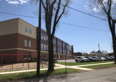 Westmont Hilltop - Elementary ~ Exterior, Visitors Side Classrooms (VM)