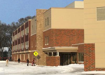 Westmont Hilltop - Elementary ~ Exterior, Visitors Side Entrance 3 (VM)