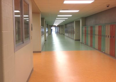 Willamsport - WAMS ~ Middle - Interior Admin Corridor Lockers 1