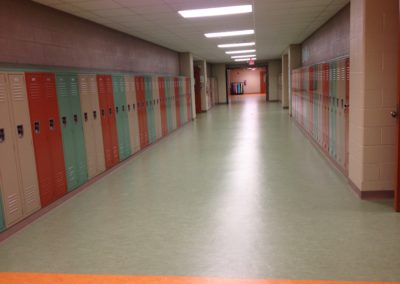 Willamsport - WAMS ~ Middle - Interior Admin Corridor Lockers 3