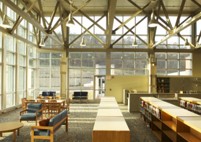 Willamsport - WAMS ~ Middle - Interior Library 3