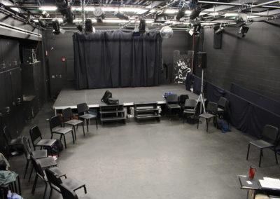 Williamsport - WAHS ~ HS - Interior Blackbox Theatre
